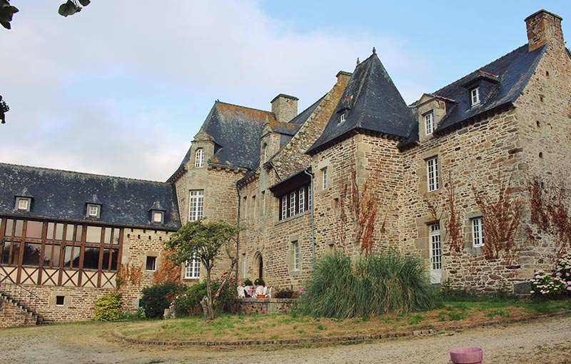Photo du Chateau de Brélidy - Kerlotec